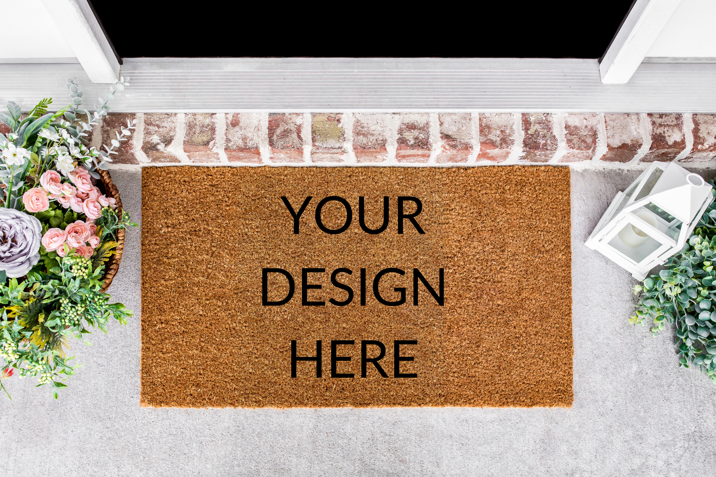 Custom design doormat