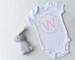 Wreath personalised bodysuit