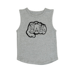 Knuckles Dad muscle tank | size 0 - 5