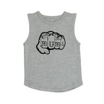 Knuckles Mum muscle tank | size 0 - 5
