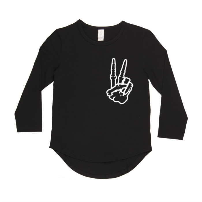 Peace long sleeve top | size 0 - 14