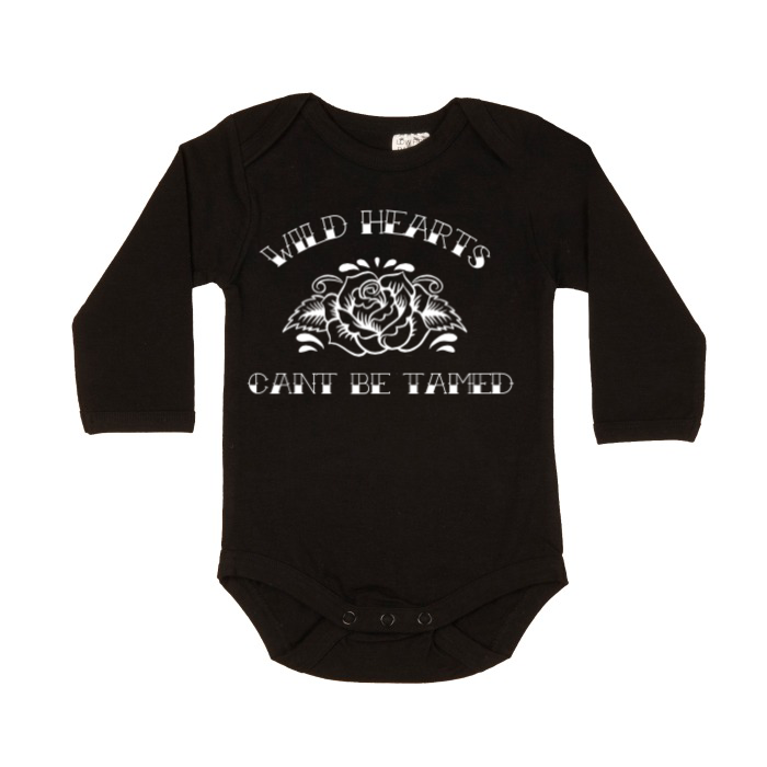 Wild hearts can't be tamed long sleeve bodysuit | size 0000 - 1
