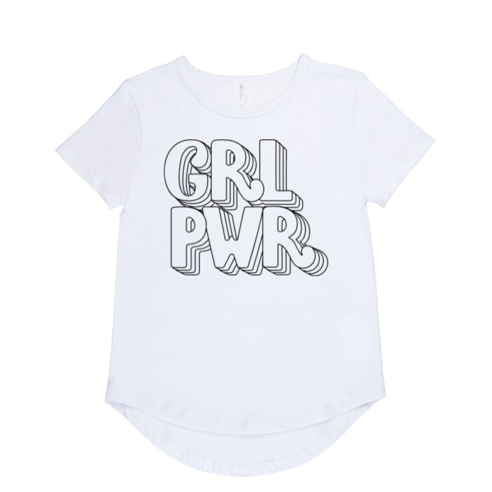 Girl power t-shirt | size 6 - 14