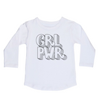 Girl power long sleeve top | size 0 - 14
