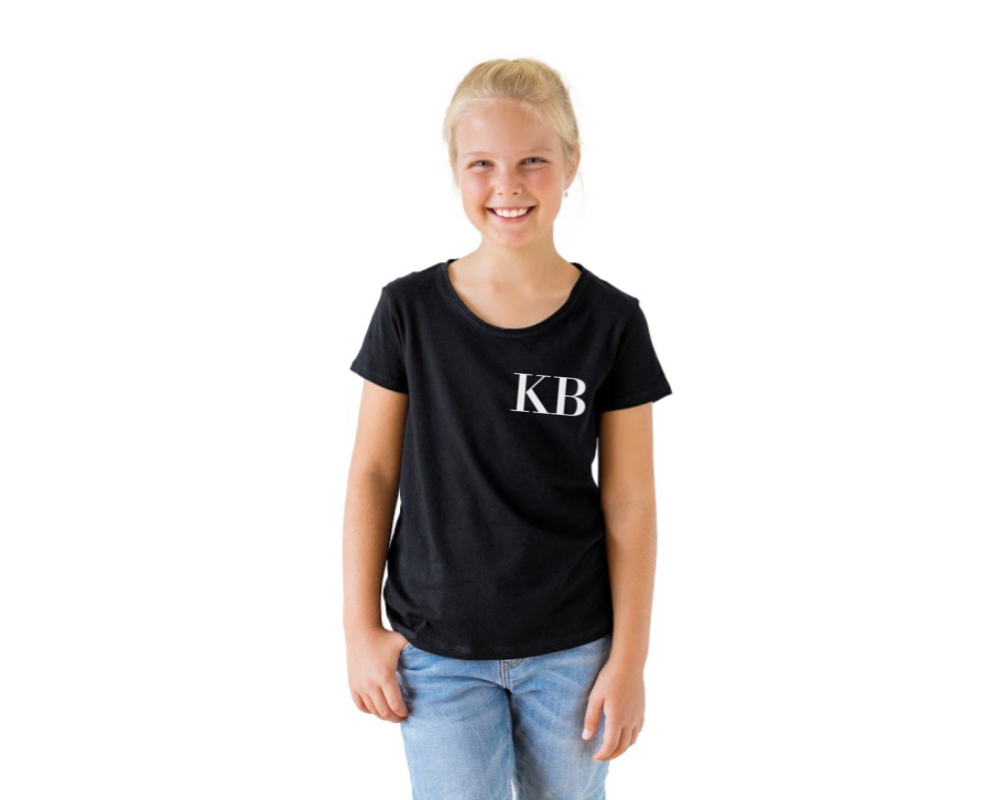 Monogram personalised tee