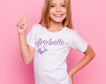 Butterfly personalised tee
