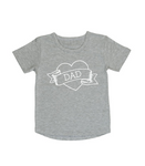 I heart Dad T-shirt | size 00 - 5