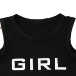 Girl bait tank & shorts set | 12m - 5