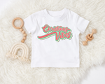 Christmas vibes kids tee