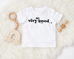 So very loved kids tee