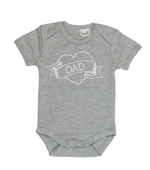 I heart Dad short sleeve bodysuit | size 0000 - 1