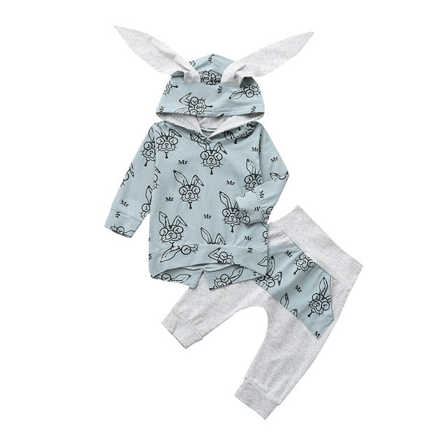 Mr rabbit jumper & pants set | size 6m - 24m