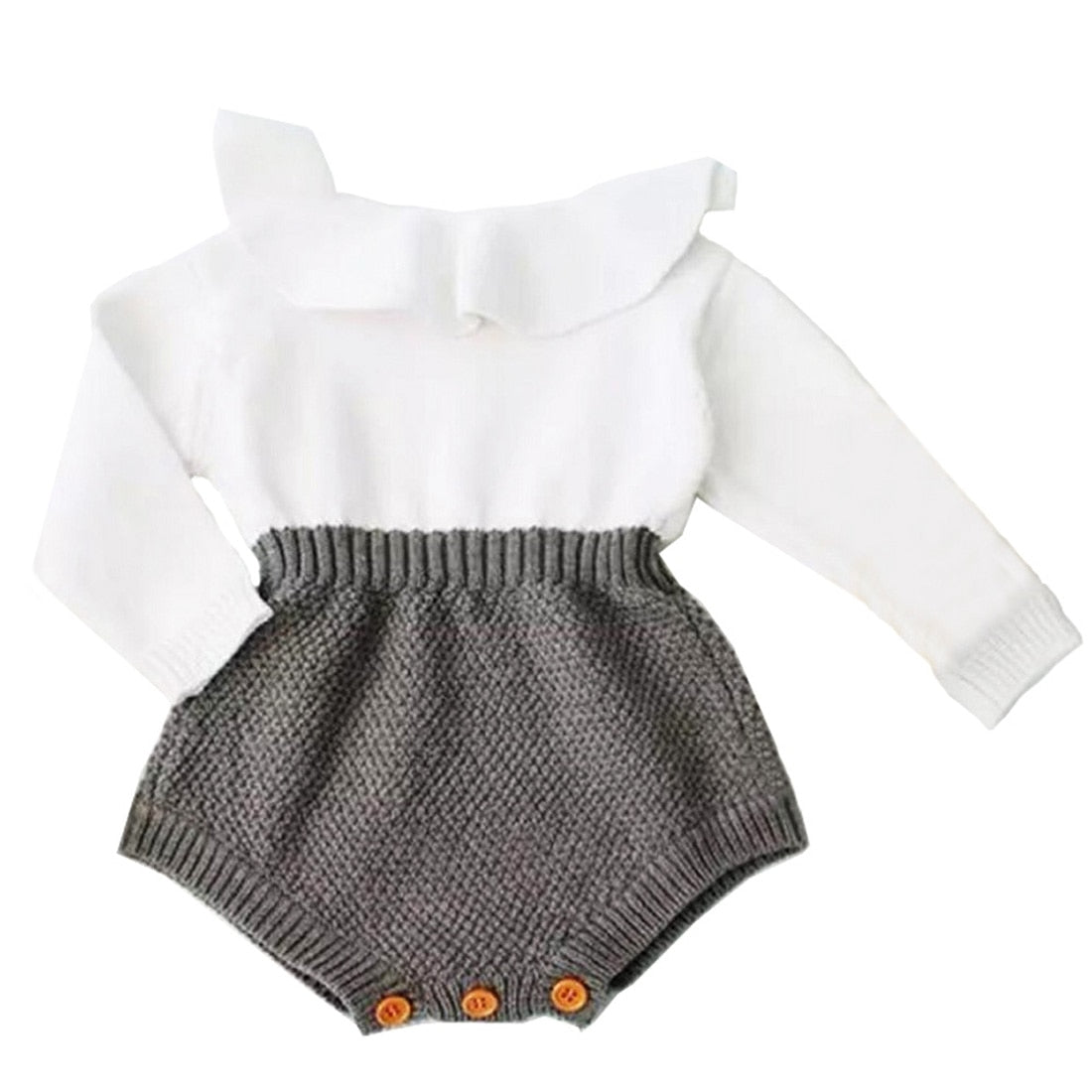 Karina knitted romper ♥ size 3m - 18m