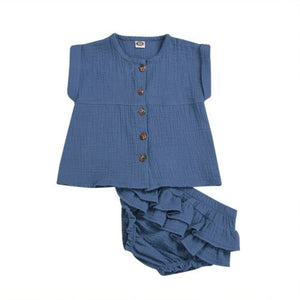 Kailani top & bloomers set | size 6m - 24m