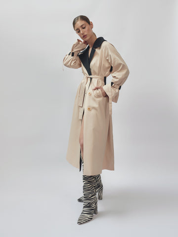 Crown Trench Coat