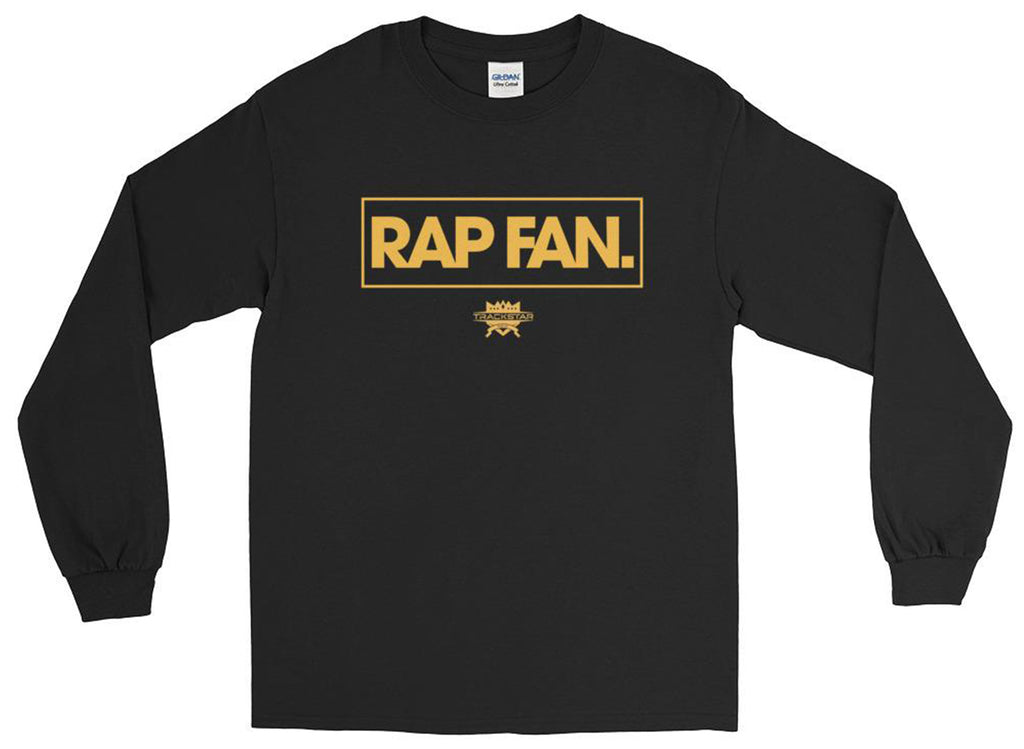 Rap Fan - Box Logo Long Sleeve T-Shirt