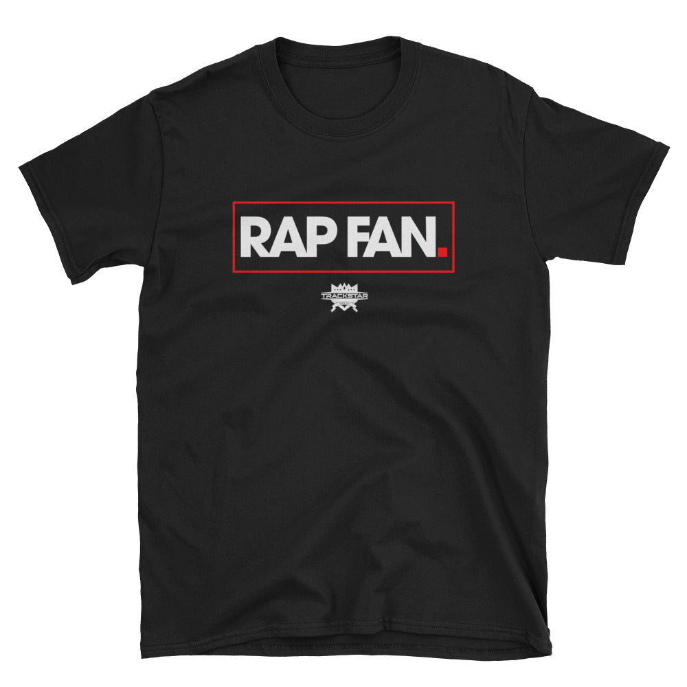 Rap Fan - Box Logo T-Shirt (Black)