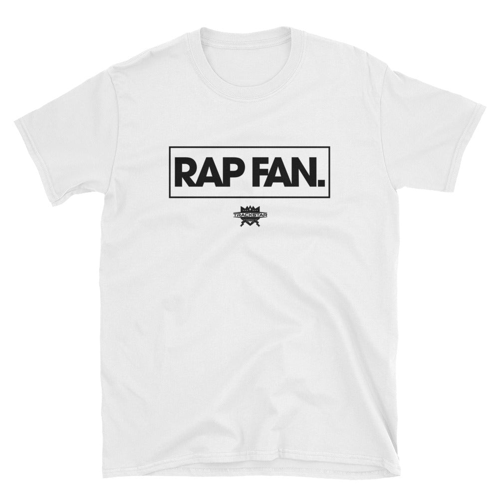 Rap Fan - Box Logo T-Shirt (White)