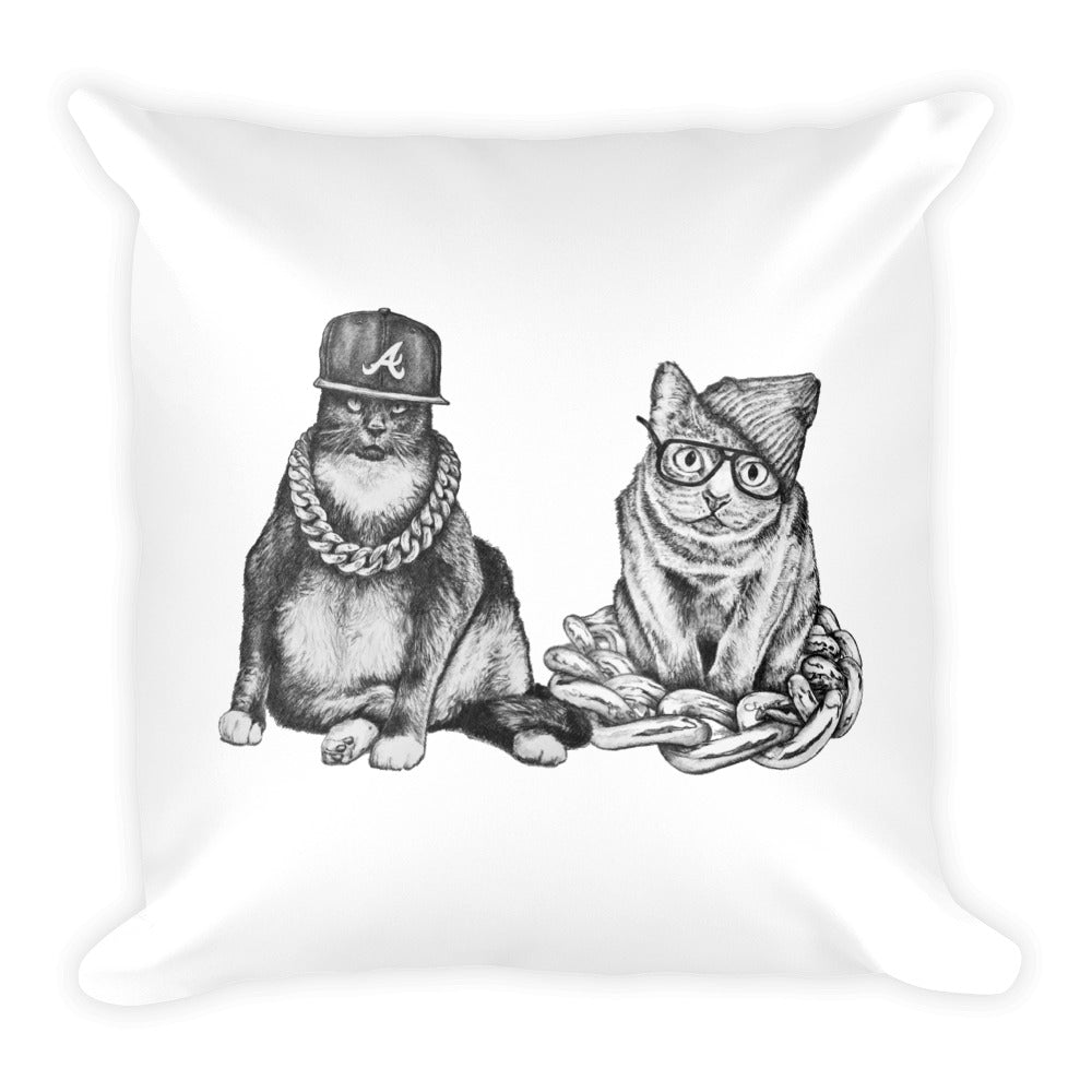 Run The Jewels - Two Catz Pillow