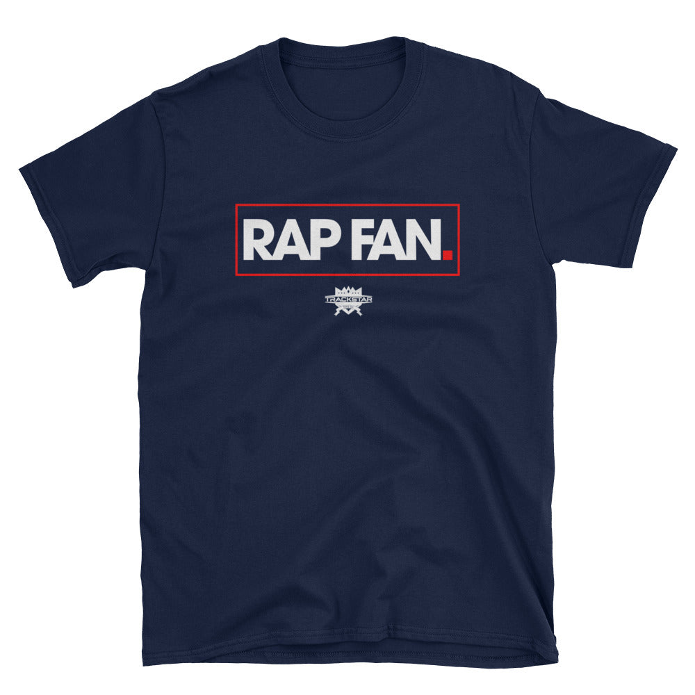 Rap Fan - Box Logo T-Shirt (Navy)