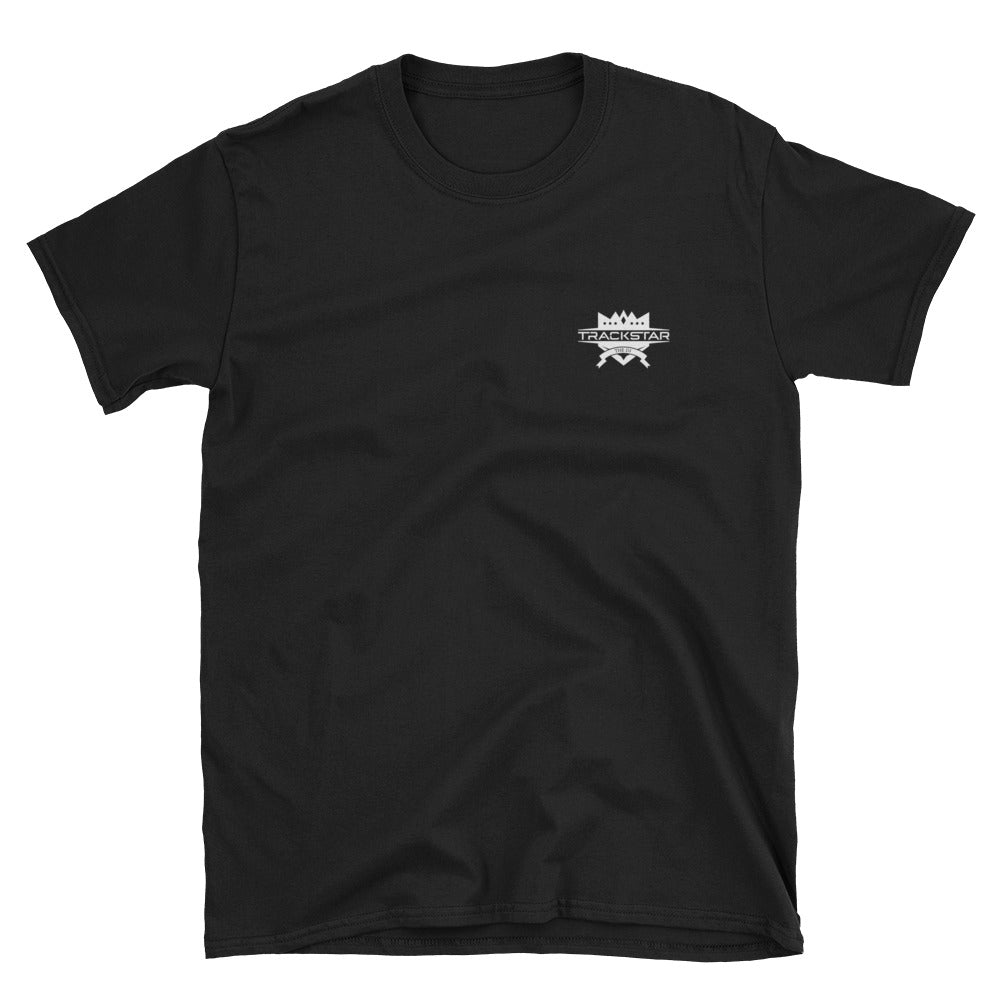 Rap Fan - DJ Trackstar T-Shirt (Black)