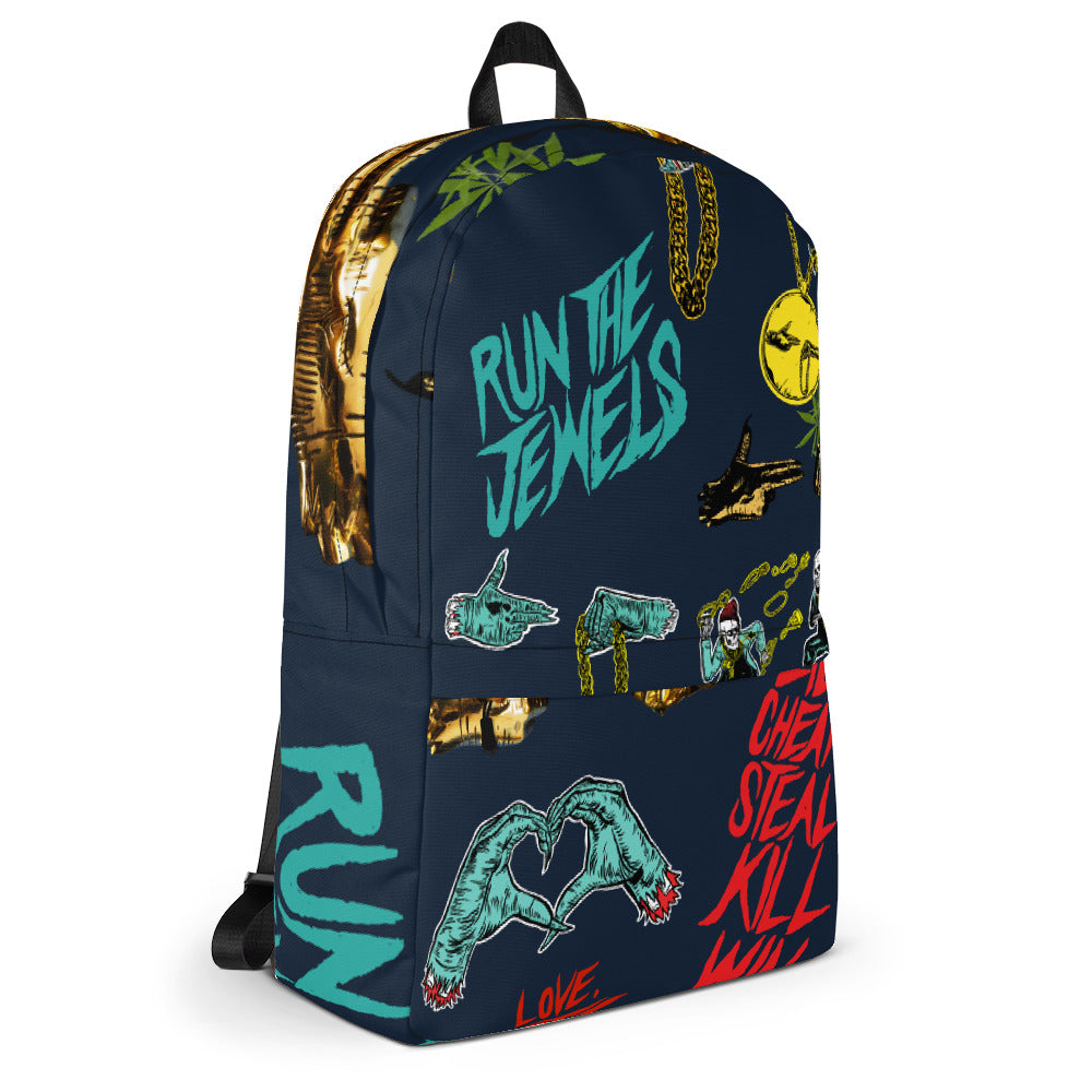Run The Jewels - Graffiti Backpack