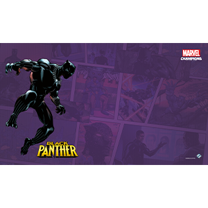 Marvel Champions LCG Black Panther Game Mat