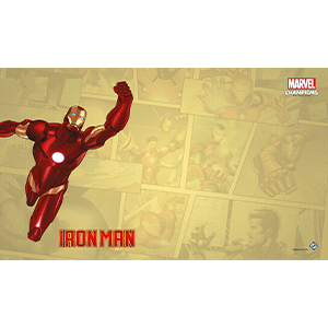 Marvel Champions LCG Iron Man Game Mat