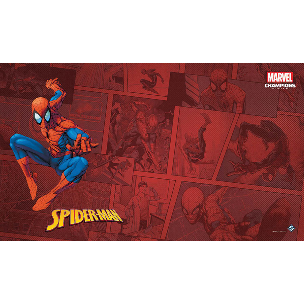 Marvel Champions LCG Spider Man Game Mat