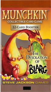Munchkin CCG: The Desolation of Blarg Booster Pack (Single Pack)