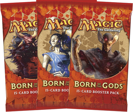 MTG: Born of the Gods Booster Pack (Triple)