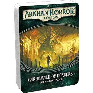 Arkham Horror LCG Carnivale of Horrors Scenario Pack