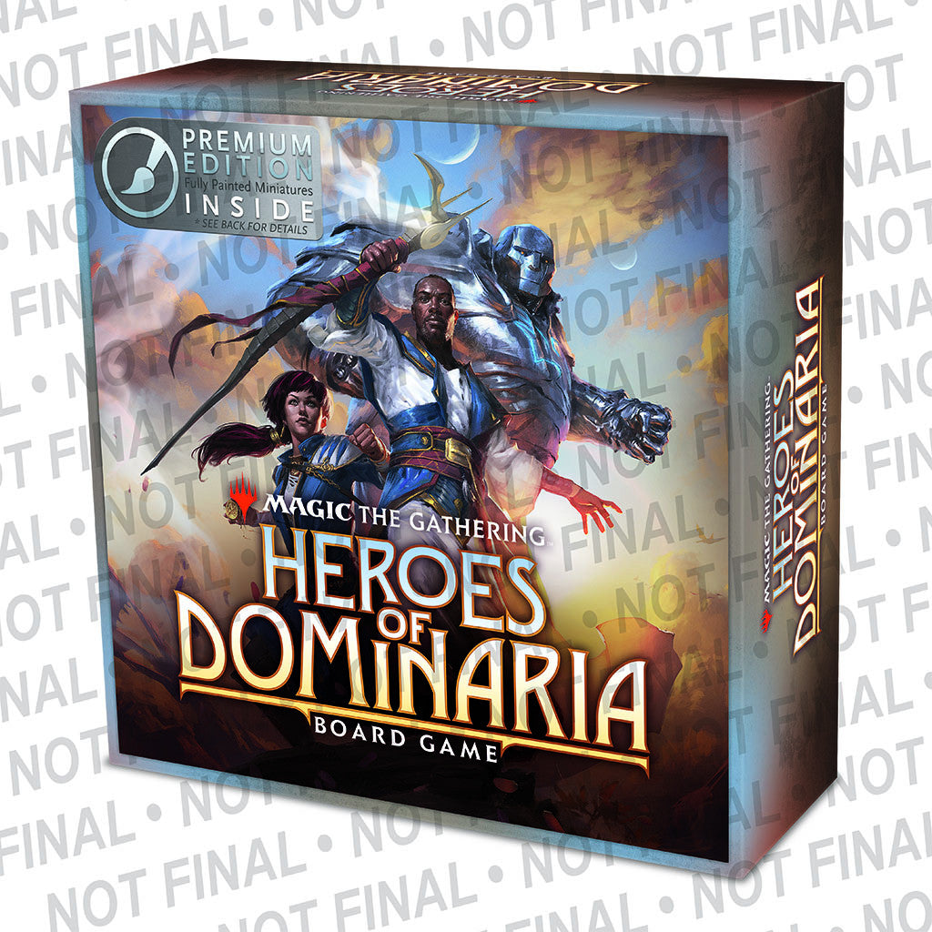 MTG: Heroes of Dominaria Board Game PREMIUM EDITION