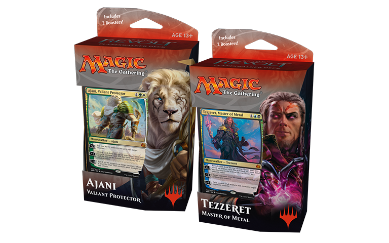 MTG: Aether Revolt Both Plainswalker Decks