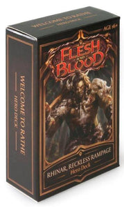 Flesh & Blood - Hero Deck Rhinar, Reckless Rampage