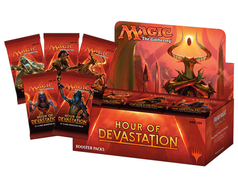 MTG: Hour of Devastation Booster Box Whole