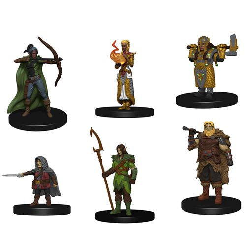 D&D: Icons of the Realms New Starter Set Minis