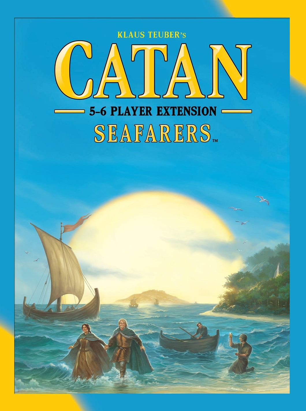 Catan Seafarers 5&6 Player Extension