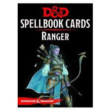 D&D Spellbook Cards Ranger Deck