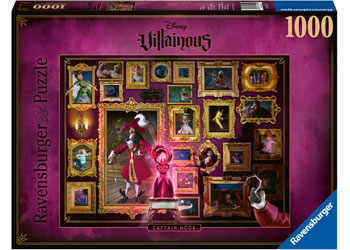 Disney Villainous Captain Hook Puzzle 1000pc
