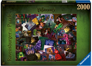 Disney Villainous Worst Comes Prepared 2000pc Puzzle