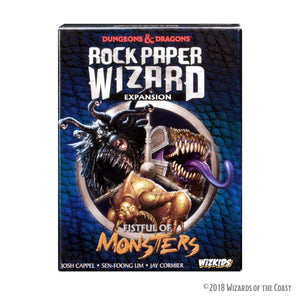 D&D Rock Paper Wizard - Fistful of Monsters