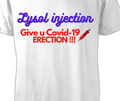 Lysol covid-19 t-shirt 100% cotton made in USA