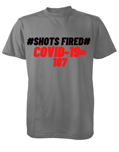 #Shots fired# covid-19 = 187 100% cotton made in USA