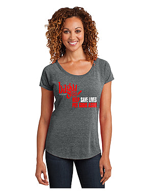 Awareness brand Bag stop gun violence womens t-shirt