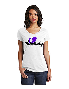 UBEAUTY STOP CYBER BULLY AWARENESS BRAND T-SHIRT