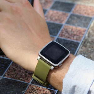 Silicone Watchband - 22mm with Quick Release