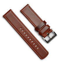 Load image into Gallery viewer, Leather Watchband – 22mm with Quick Release