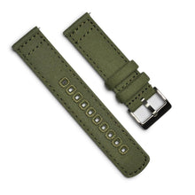 Load image into Gallery viewer, Canvas Watchband – 22mm with Quick Release