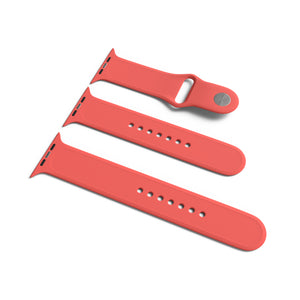 Silicone Apple Watch Band - 3 Piece SM/ML